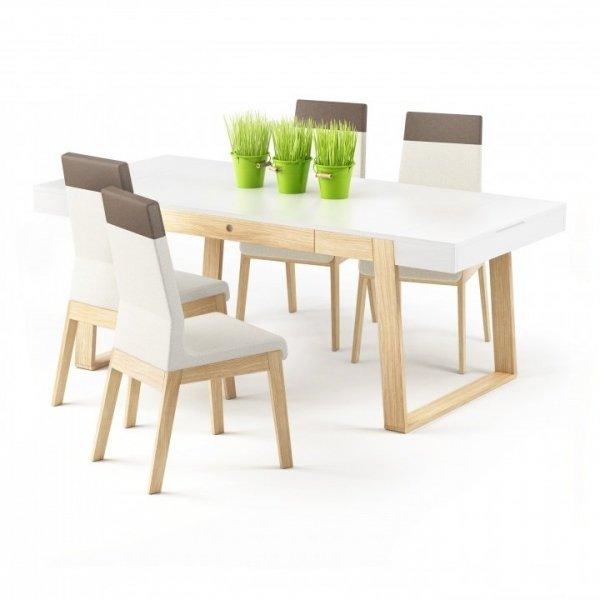 Stół rozkładany Magh Absynth to nowoczesny stół do jadalni