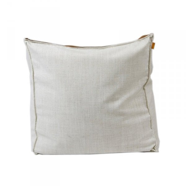 Puf biało brązowy Gie El