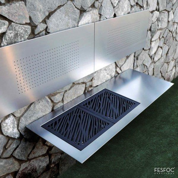 Nowoczesny grill na węgiel drzewny marki FESFOC