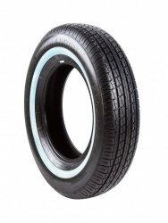 POWERTRAC P215/75R15 ROADTOUR 100T PO017W2 TL White Wall #E