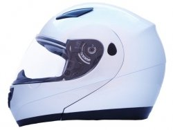 Kask DATEX Loco ST-01 srebrny XXL Flip-Up
