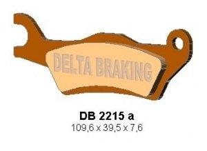 Klocki hamulcowe Delta DB2215 Can-Am Outlander 800/1000 Przód Lewy