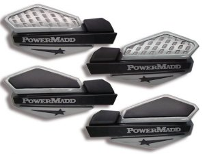 Osłony na dłonie POWER MADD Silver/Black