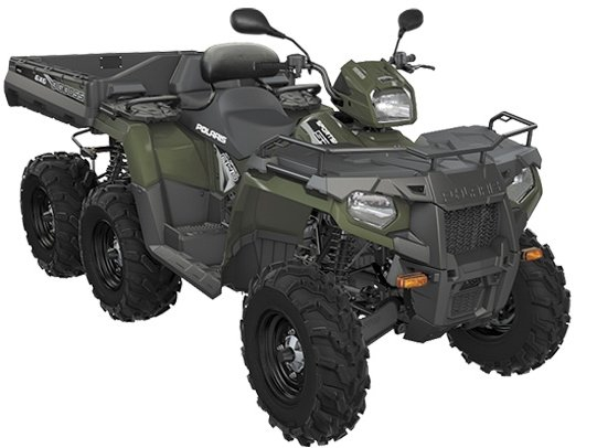 Polaris Sportsman 570 Big Boss 6x6 Tractor