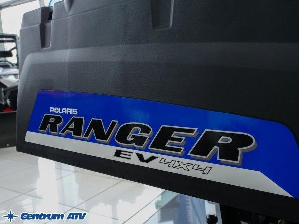 Polaris Ranger EV Tractor - elektryczny, homologacja T3