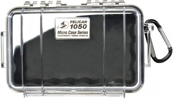 Peli model 1050 czarna/przeźroczysta