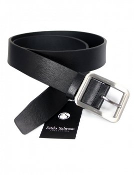Men`s belt black Estilo Sabroso ES04921