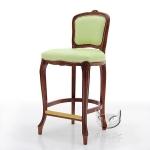 Pistacjowe krzesło barowe Fiorino