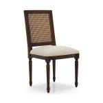 Krzesło z drewna toczone nogi Settecento