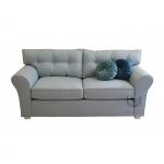 Skandynawska sofa z pikowanym oparciem Sweet 214 cm