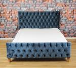 Pikowane łóżko Soprano 160x200