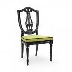 Designerskie krzesło subtelna linia wiolonczeli Violino