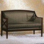 Dwuosobowa sofa w stylu art-deco Cesare