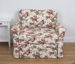 Sofa w stylu skandynawskim Flower 110 cm