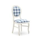 Białe krzesło postarzane Liberty