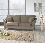 Ciemno beżowa sofa 3 osobowa Eddard