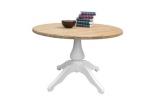 Duży okrągły stół 120x76h z kolekcji Retro Scandinavia Bolero