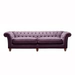 Duża kanapa nierozkładana Barcelona Chesterfield
