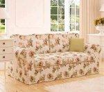 Sofa rozkładana, ściągany pokrowiec Marie 206 cm