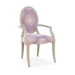 W stylu art-deco krzesło Matilde