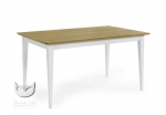 Prosty stół w stylu prowansalskim Stół BERNARD 140x90 cm