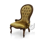 Fotel w stylu Ludwika Filipa Diva