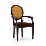 Krzesło z okrągłym oparciem Julia