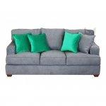Prosta sofa do nowoczesnego salonu Rene 190 cm