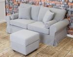 Szara sofa inspiracje Christine 188 cm