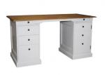 Oryginalne z dębowym blatem biurko Horacio