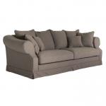 Sofa 3-osobowa z falbaną Castello