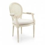 Drewniane włoskie krzesła Luigi