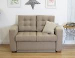 Prosta pikowana sofa Fiord 156 cm/FS