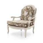 Fotel w stylu królewskim Grace