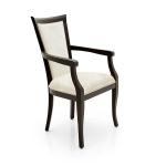 Proste krzesło do salonu w stylu nowoczesnym Milano