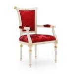 Klasyczne krzesło do wnętrz stylizowanych Svetlana