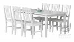 Rozkładany stół z krzesłami zestaw COUNTRY