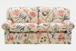 Motyle i kwiaty - sofa Clementine