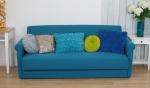 Sofa, rozkładana klasyczna wersalka retro BROSTOL