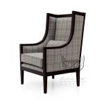 Fotel w stylu modernistycznym Miranda