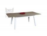 Stół z litego drewna w stylu skandynawskim 180x100 cm Francesco