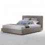Tapicerowane 140x200 proste łóżko Doris