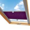 Rolety plisowane dachowe na miarę