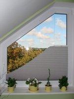 Rolety na okna trójkątne, skośne, trapezowe i inne nietypowe.