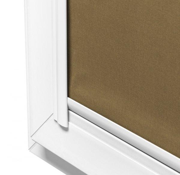 MOntaż rolet Vario Lux Medium może odbywać się na oknach o płaskich listwach przyszybowych