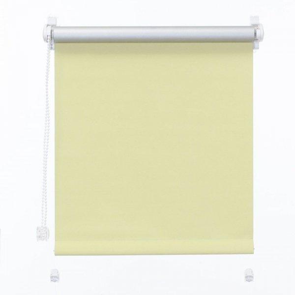 Mini roleta z żyłką Thermo - Żółty (Silver)