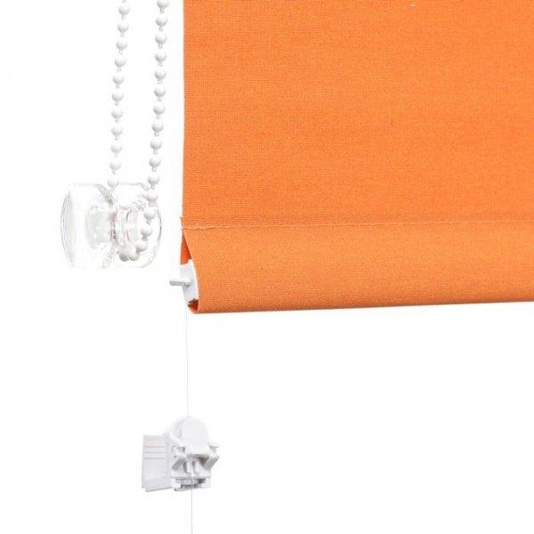 Mini roleta z żyłką - Pomarańczowy (Carina)
