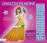 Gwiazdy filmowe Niezwykłe kolorowanki Diamentowe nalepki