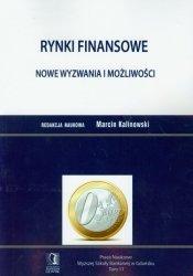 Rynki finansowe Nowe wyzwania i możliwości