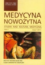 Medycyna nowożytna tom 17 Zeszyt 1/2011